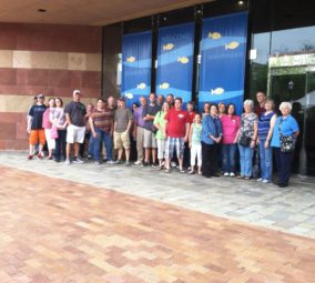 Group at Chattanooga AquariumGroup at Chattanooga Aquarium